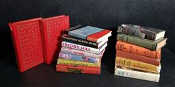Sale 9208 - Lot 2036 - Box of Novels incl. Charteris, L. The Second Saint Omnibus1954; Simenon, G. The Move, 1968; Masterpieces of Mystery, selected...