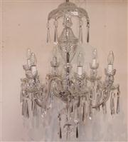 Sale 7978 - Lot 84 - Waterford Crystal Chandelier
