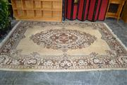 Sale 7987A - Lot 1172 - Brown and Cream Tone Carpet w/ Central Medallion, 320x240