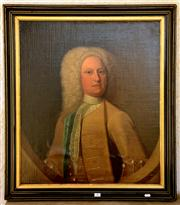 Sale 8015A - Lot 90 - ARTIST UNKNOWN - Portrait of John Falkiner