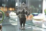 Sale 8342B - Lot 12 - Javanese Bronze Ganesha Figure