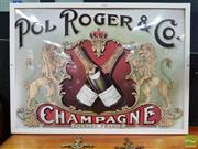 Sale 8550 - Lot 1131 - Pol Rogers and Co Advert Sign