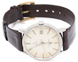 Sale 9145 - Lot 392 - A VINTAGE OMEGA SEAMASTER 600 WRISTWATCH; ref: 136.011 in stainless steel with sunburst dial, centre seconds, date, 17 jewel cal. 61...