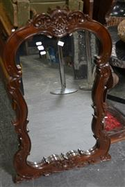 Sale 8115 - Lot 1423 - Heavily Carved Mirror