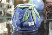 Sale 8261 - Lot 36 - Australian Studio Pottery Vase signed S.W.