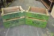 Sale 8431 - Lot 1002 - Pair of Soft Drink Crates