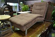 Sale 8499 - Lot 1378 - Modern Upholstered Chaise