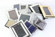 Sale 8783 - Lot 196 - Collection of Silver Plated Picture Frames Various Sizes incl Whitehall