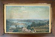 Sale 8849A - Lot 5017 - Australian School - Sydney Harbour 18.5 x 30.5cm