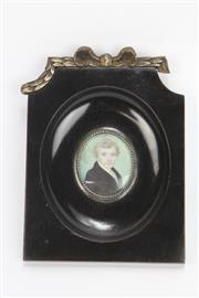 Sale 8667 - Lot 4 - Early 20th Century Miniature Portrait Of Young Gentleman