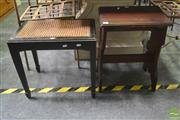 Sale 8262 - Lot 1073 - Two Piano Stools