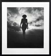 Sale 8309 - Lot 566 - Max Dupain (1911 - 1992) - Nude in Sunlight - Cronulla, 1937 45 x 40cm