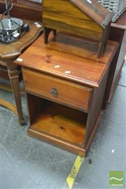 Sale 8406 - Lot 1103 - Pair of Single Drawer Bedside Cabinets