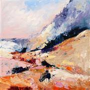 Sale 8642A - Lot 5037 - Cheryl Cusick - The Valley 100 x 100cm