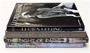 Sale 8709 - Lot 1090 - Four books including Lucien Lelong, Axel Vervoordt, The Night of Paris and Designing with Flowers.