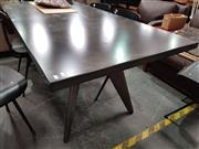 Sale 8724 - Lot 1032 - Metal Designer Dining Table with Metal Legs (L: 190cm)
