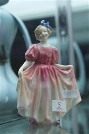 Sale 8032 - Lot 5 - Royal Doulton Figurine  Sweeting HN 1935