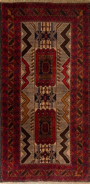 Sale 8439C - Lot 2 - Persian Baluchi 205cm x 105cm