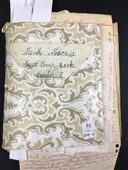 Sale 8539M - Lot 84 - Magic Scrapbook, book no. 7, an early scrapbook by J. Albert Briggs. Replete with Briggs handwritten tricks and diagrams with cor...