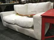 Sale 8740 - Lot 1548 - Two Seater Sofa - need covering