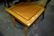 Sale 8093 - Lot 1560 - Inlayed Side Table