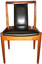 Sale 8258A - Lot 63 - Set of eight retro dining chairs, RRP $260 each