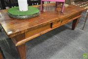 Sale 8262 - Lot 1080 - Timber Single Drawer Coffee Table