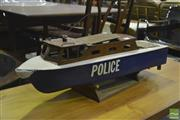 Sale 8287 - Lot 1074 - Vintage Model Remote Control Police Boat