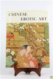 Sale 8603 - Lot 89 - Chinese Book On Erotic Art
