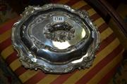 Sale 8093 - Lot 1741 - English Silver Plated Vegetable Dish