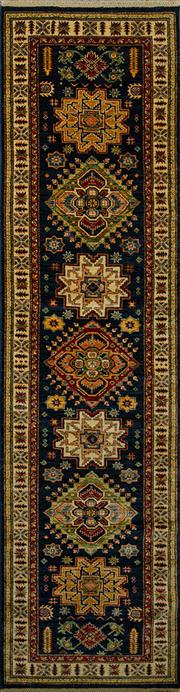 Sale 8444A - Lot 38 - An Afghan Super Kazak pure wool runner, 311cm x 81cm