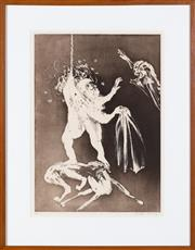 Sale 8550H - Lot 220 - Arthur Boyd - Lady & The Unicorn Series, 1973-75