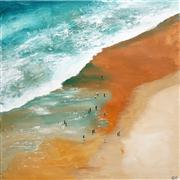 Sale 8583A - Lot 5077 - Cheryl Cusick - The Wave 100 x 100cm