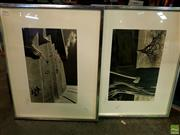 Sale 8631 - Lot 2094 - 2 Framed Photographs by the Same Photographer - Excolation & Ax Is