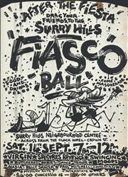Sale 8766A - Lot 5077 - Surry Hills Fiasco Ball - photostat