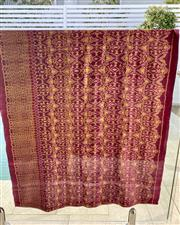 Sale 9031H - Lot 46 - Antique Fabric from Karon Tribe, used as a wall hanging from Northern Thailand, L 182cm x H 98cm -