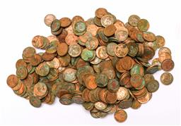 Sale 9110 - Lot 304 - Large collection of mostly copper coins