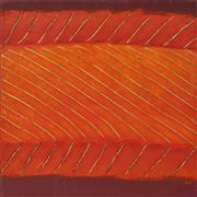 Sale 8113A - Lot 1 - Kate Briscoe (1944 - ) - Earth Lines - Tapaz, 1999 76 x 76cm