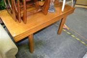 Sale 8115 - Lot 1121 - Timber Table