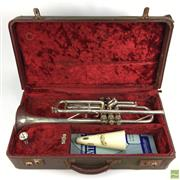 Sale 8648A - Lot 42 - Alliance Trumpet in Case with Mute
