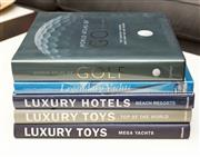 Sale 8709 - Lot 1094 - Books on Luxury Toys and Golf