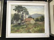 Sale 9033 - Lot 2010 - N Toovey In the Tambaroo Valley oil on board 47 x 55cm (Frame) signed