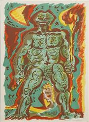 Sale 8068A - Lot 65 - André Masson (1896 - 1987) - Titan Crapaud, 1972 37 x 29cm