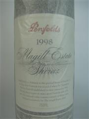 Sale 8340A - Lot 725 - 1x 1998 Penfolds Magill Estate Shiraz, Adelaide