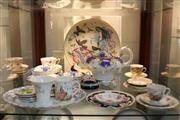 Sale 8340 - Lot 100 - Hutschenreuther Jungfrau Charger with Other Ceramics incl Wedgwood Ice Rose Vase