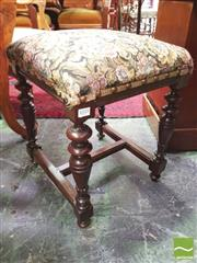 Sale 8428 - Lot 1035 - 19th Century Carved Oak Stool