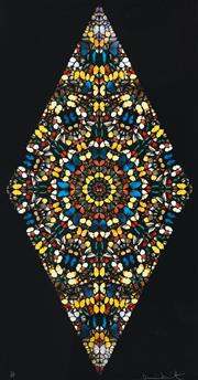 Sale 8558 - Lot 552 - Damien Hirst (1965 - ) - Sceptic, 2006 150 x 78.5 cm (sheet size)