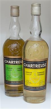 Sale 8486A - Lot 78 - 2 x bottles of Chartreuse