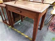 Sale 8570 - Lot 1094 - Timber Hall table