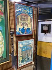 Sale 8914 - Lot 2058 - Pair of Hydro Majestic Advertisments
